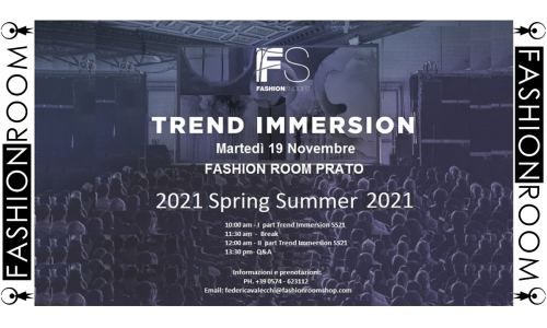 Fashion Snoops Trend Immersion SS 2021
